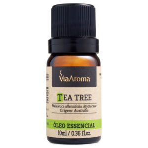 Óleo Essencial Tea Tree 10ml - Via Aroma