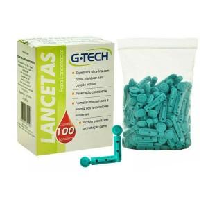 Lanceta Para Lancetador 100Unid - G-Tech