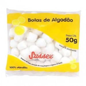 Bolas de Algodão 50g - Sussex