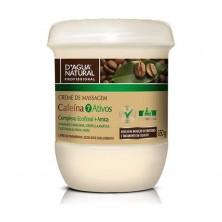 Creme de Massagem Corporal Cafeína 650g - D'Agua Natural