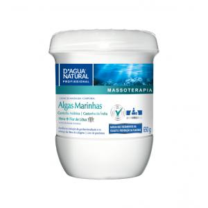 Creme de Massagem Corporal Algas Marinhas 650g - D'Agua Natural