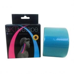 Bandagem Elástica/Kinésio Azul 5cmx5m - Aktive Tape