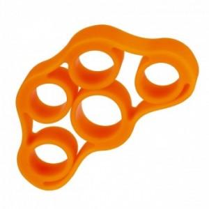 Extensor Elástico para Fortalecimento dos Dedos Laranja - LiveUp