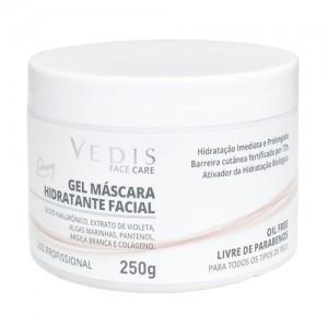 Creme Máscara Hidratante Facial Ácido Hialurônico 250g - Vedis