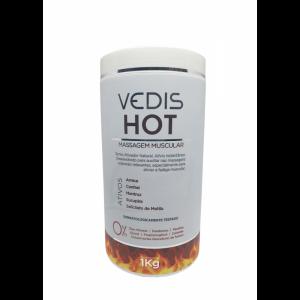 Creme de Massagem Hot 1kg - Vedis