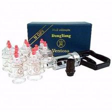 Kit Ventosa c/ 10 Copos de Acrílico - DongYang